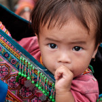 Vietnamese girl in Bac Ha